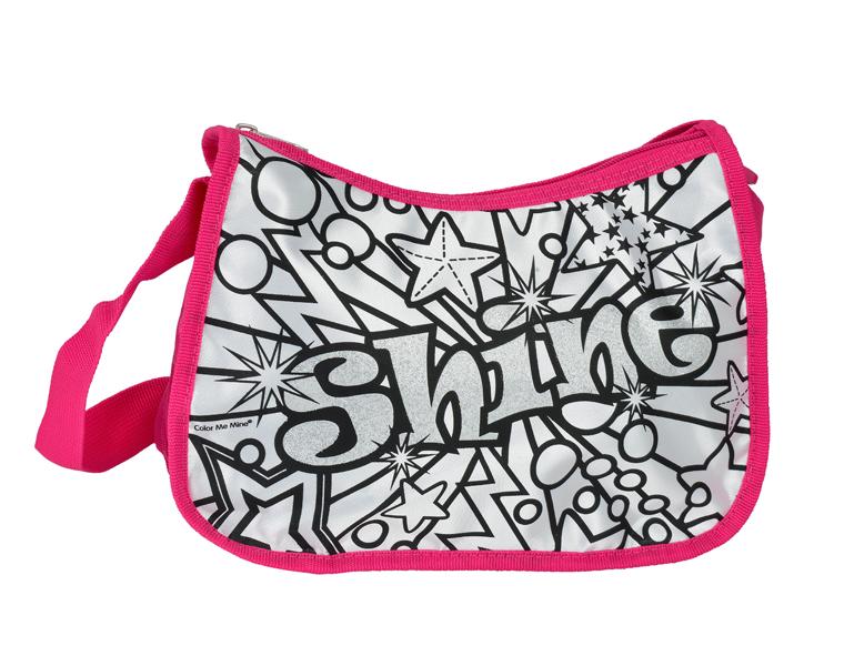 Сумка с блестками Лето color me mine рюкзак 5 перманентных маркеров