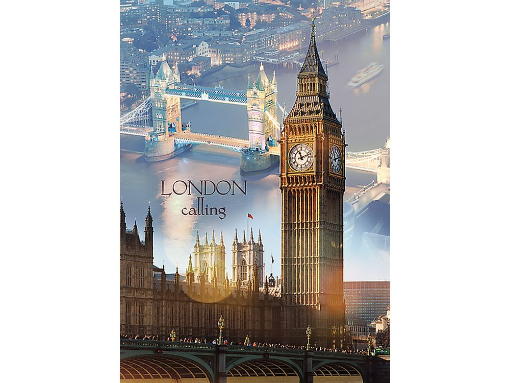 1000 дет.- Лондон на рассвете 1000 дет лондон