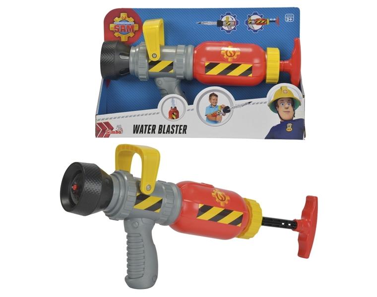 Водный бластер Пожарный Сэм, 31 смДанное водяное оружие выполнено в виде пожарного пистолета, которым пользуется главный герой мультсериала «Пожарный Сэм». Игрушечное орудие выглядит весьма реалистично и отличается привлекательным дизайном. Принцип работы этого бластера такой же, как и у остальных: в емкость заливается вода и начинается яростная «войнушка» с друзьями во дворе. Ребенок также сможет придумывать разнообразные игровые сюжеты, воображая себя настоящим работником противопожарной команды.Возраст: от 3 летДля мальчиковЦвет: серый, красный, желтый, черный.Материалы: пластик.Размер упаковки: 33 х 21 х 8.5 см.Длина водного бластера: 31 см.<br>