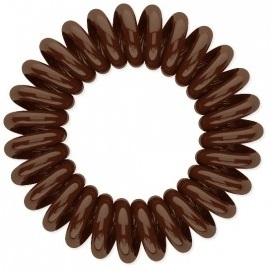 Резинка для волос Beauty Bar, коричневая резинка спиралька для волос