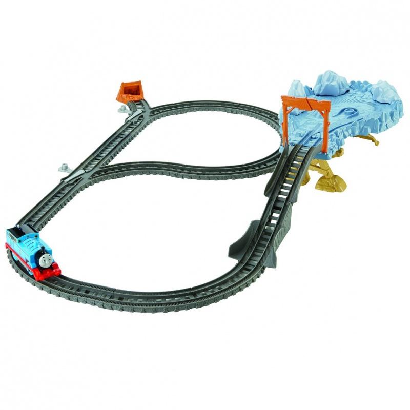 Игровой набор Томас и его друзья - Опасный путьДанный игровой набор Томас и его друзья - Опасный путь представляет собой захватывающую игру, в которой от самого ребенка будет зависеть конечный итог развития событий. Собрав железную дорогу, набор предлагает установить обрыв и крутой поворот в скалах, стрелки и булыжники на путях. Опасно интересный путь Томаса и результат конечного прибытия будут подчиняться его скорости и умению машиниста.Игра с набором очень весела и увлекательна, ребенка будет сложно оторвать от интригующих приключений Томаса. Все детали, входящие в комплект, прошли строгую систему сертификации и абсолютно безопасны для игры маленьким детям.Возраст: от 3 летГерой: Томас и его друзьяДля мальчиков и девочекКомплектация: паровоза, детали железной дороги.Наличие батареек: не входят в комплект.Тип батареек: 2 x AAA / LR0.3 1.5V (мизинчиковые).Материалы: пластик, металл.Длина состава: около 15 см.<br>