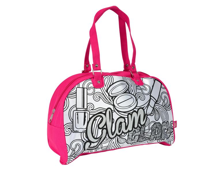 Сумка на молнии Glam, 5 перманентных маркеров color me mine рюкзак 5 перманентных маркеров