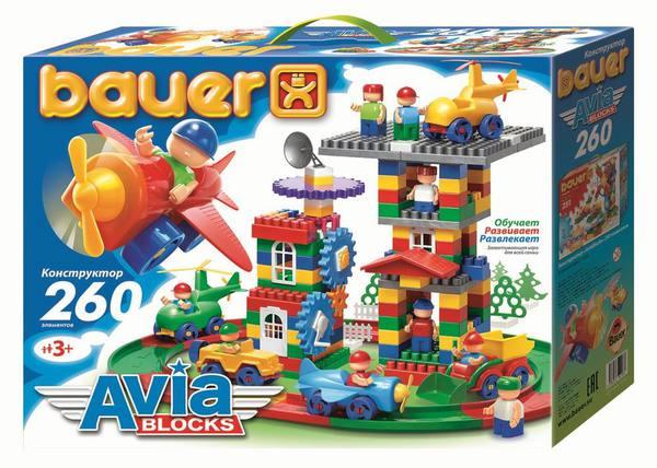 Конструктор Avia, 260 элементов bauer toys игрушка каталка самолет