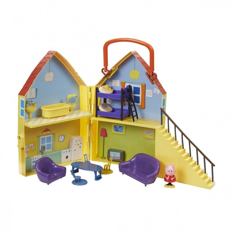 Игровой набор Peppa Pig Дом Пеппы игровой набор peppa pig семья пеппы папа свин и джорж 2 предмета от 3 лет 20837
