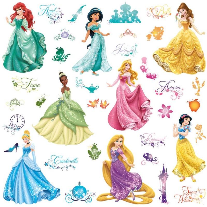 Наклейки для декора. Принцессы ДиснейНаклейки для декора «Принцессы Дисней» помогут вашему ребенку проявить фантазию и индивидуальность. Универсальные наклейки могут быть нанесены практически на любую поверхность. Это позволит украсить комнату, мебель, школьные тетради любимыми персонажами вашего малыша.Качество и надежностьНаклейки изготавливаются на прочной бумаге, устойчивой к случайным повреждениям и выцветанию. Благодаря этому вы можете быть уверены в долгом сроке службы. Рисунки выполнены с высокой степенью детализации и проработки, что несомненно порадует вашего ребенка.Заказ и доставка        Приобрести наклейки для декора «Принцессы Дисней» вы сможете в одном из наших розничных магазинов в Москве или Санкт-Петербурге. Жителям других регионов страны доступна доставка с наложенным платежом.<br>