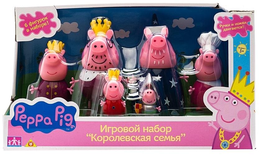 Игровой набор «Королевская семья», Свинка Пеппа игровой набор peppa pig семья пеппы папа свин и джорж 2 предмета от 3 лет 20837