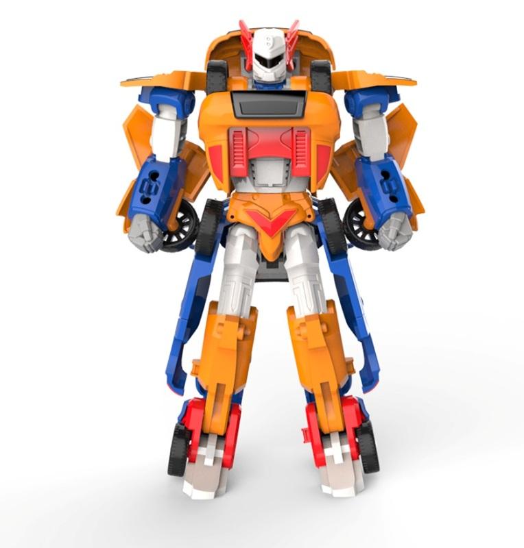"""Купить со скидкой Робот-трансформер 2 в 1 """"Мини Тобот"""" - Титан"""