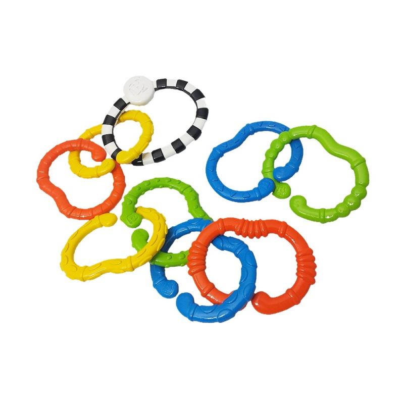 Купить Игрушка-цепь Веселые колечки