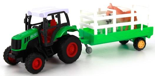 Машинка Технопарк Трактор с прицепомСоздавая марку Технопарк, производитель поставил перед собой задачу объединить под одним брендом все самые современные и интересные игрушки для мальчиков. Технопарк - это уникальный мир техники и передовых технологий, позволяющий ребенку уже сегодня заглянуть в будущее. Это игрушки, без которых невозможно обеспечить увлекательный досуг современного ребенка. Технопарк - игрушки будущего, доступные уже сегодня.Под ТМ Технопарк представлен огромный выбор металлических и пластиковых моделей, это и российские модели(УРАЛ, Газель, КАМАЗ, УАЗ, ЛАДА и др.), и игровые наборы разной тематики(военная техника, строительная техника, городские и специальные службы, самолеты, вертолеты, автобусы). За последнее время коллекция дополнена вертолетами с инфракрасным управлением.Отличительными особенностями ТМ Технопарк являются:- высокое качество- наличие функциональных деталей- широкий ассортимент- постоянные новинки- оригинальная упаковка в едином стиле-надписи на моделях на русском языке- русская озвучка и световые эффекты в некоторых моделях-оптимальная цена.Соберите и Вы свой парк!<br>