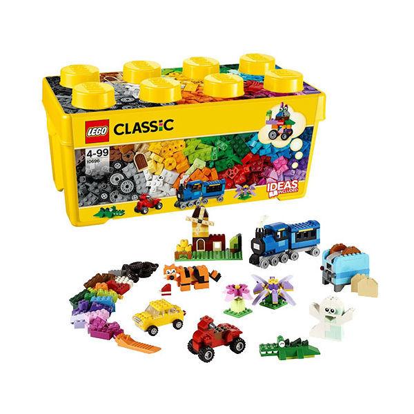 Конструктор Lego Classic 10696 Набор для творчества среднего размера lego lego classic набор для творчества среднего размера