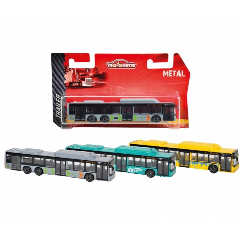 Городской автобус MAN, 1:36Все мальчики любят различные автомобили, особенно если они выглядят очень натурально. Данный автобус MAN станет отличным приобретением для ребенка. Несмотря на то, что размер автобуса всего 13 сантиметров, он выглядит очень натуралистично и продуманно. Автобус раскрашен яркой и стойкой краской, которая не сотрется ни при каких обстоятельствах, а качественные материалы гарантируют безопасность ребенка.Внимание! Товар варьируется по цветовому исполнению: серый со стрелками на корпусе / бирюзовый с надписью на кузове / желтый с голубым декором на корпусе. Вид желаемого товара указывайте в комментарии к заказу. Цена указана за 1 автобус.Возраст: от 3 летДля мальчиковМодель: MAN.Масштаб: 1:36.Материалы: металл, пластик.Длина автобуса: 13 см.<br>