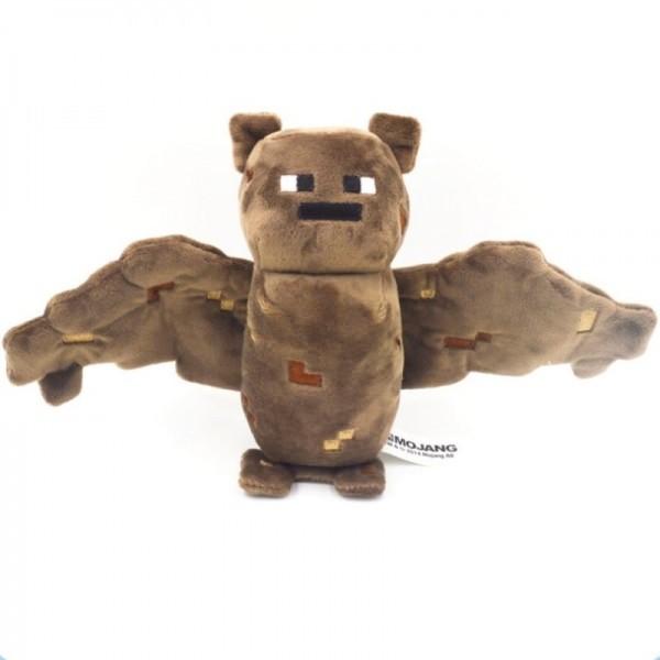 Летучая мышь Майнкрафт 18см. Плюшевая игрушка Minecraft Bat 16536 3 мягкая игрушка minecraft летучая мышь bat 16536 jazwares