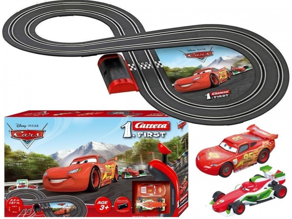 Автотрек Carrera Disney Cars