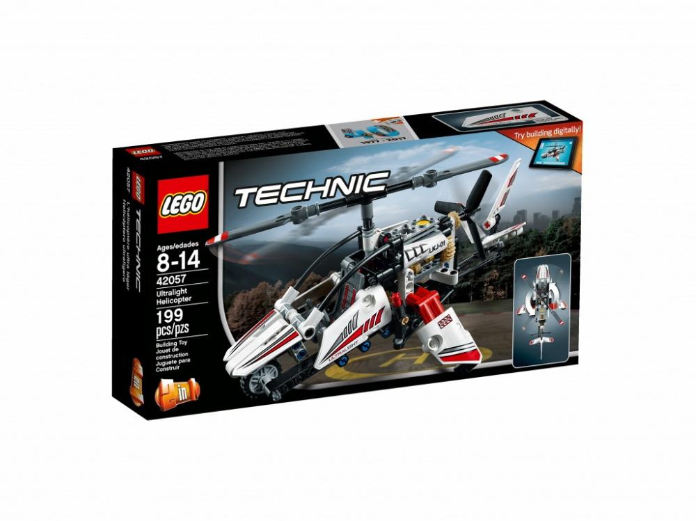 Конструктор Lego Technic 42057 Сверхлёгкий вертолёт