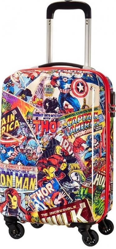 где купить  Чемодан на колесах American Tourister Marvel Legends  по лучшей цене