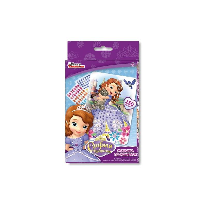 Чудо творчество. Disney™ Мозаика-сингл Sophia мозаика чудо творчество мозаика сингл disney princess рапунцель