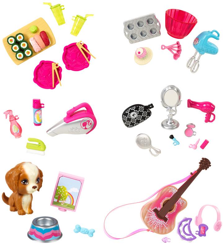 Barbie® Мини-наборы для декора дома barbie набор для декора дома холодильник с продуктами cfg65 cfg70