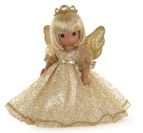 Купить Кукла Precious Moments Ангельский шепот , блондинка, 30 см.