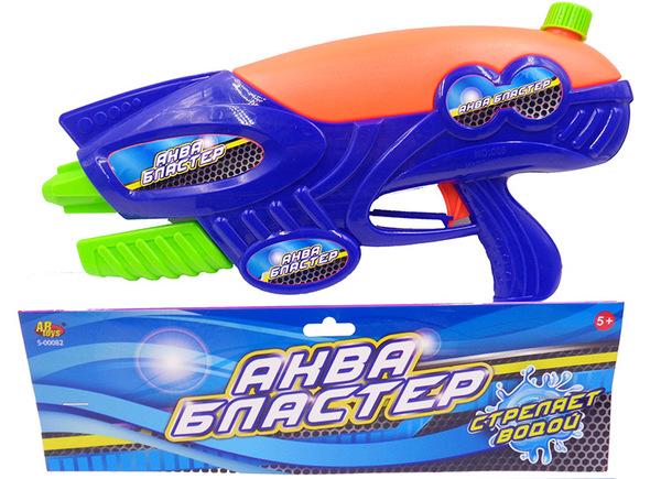Водное оружие Аквабластер, 800 млАквабластер, пистолет для стрельбы водой на улице.Дальность стрельбы более 3-х метровРазмер упаковки 41х20,5х7см<br>