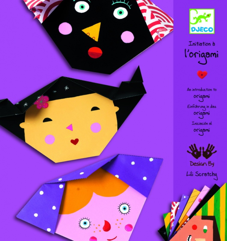 Набор Djeco Бумажные лицаНабор для творчества от производителя Djeco позволит ребенку освоить знаменитую во всем мире японскую технику создания фигурок из бумаги – оригами. В комплект набора входят 24 яркие цветные заготовки, из которых можно сделать веселые рожицы. Для этого в наборе есть подробная инструкция, благодаря которой ребенок, несомненно, справится с задачей. Готовую рожицу можно украсить с помощью наклеек, входящих в комплект. Игра с набором будет прекрасным времяпровождением и поможет совершенствовать мелкую моторику рук и творческие способности.<br>