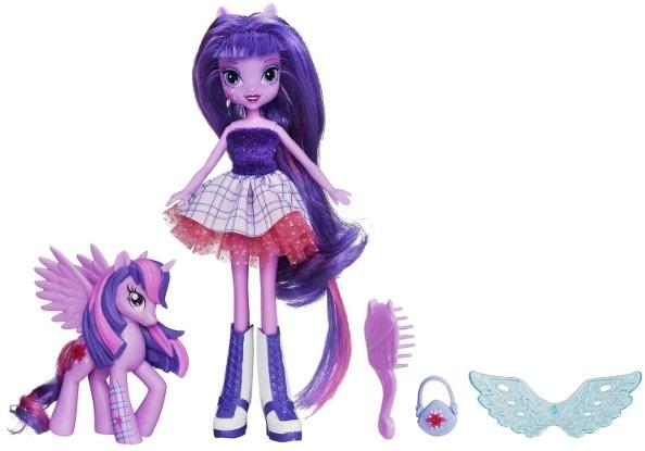 Кукла My Little Pony Equestria Girls с пони в наборе - Twilight Sparkle