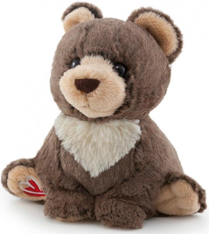Мягкая игрушка Trudi, 16 см.Забавный медвежонок с белыми «воротничком» и красным сердечком на задней лапке станет прекрасным подарком не только для детей, но и для взрослых.Игрушка изготовлена из высококачественных нетоксичных материалов, не содержит красителей и вредных химических добавок, которые могут вызвать раздражение на коже малыша. Игра с плюшевым другом поможет ребенку развить коммуникабельность, внимательность и творческие способности.<br>