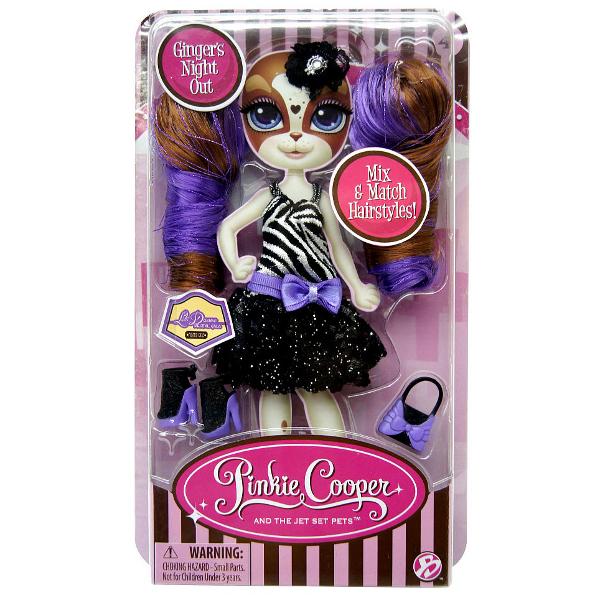 Набор Pinkie Cooper - стильные аксессуары Джинджер ДжонсНабор Стильные аксессуары для Джинджер Джонс из серии кукол Пинки Купер включает в себя яркое летнее платье с подходящими к нему по цвету сменными ушками с локонами, сумку и обувь. С этим набором ваша малышка сможет придать игрушке новый образ и разнообразить игру, ведь Джинджер такая же модница, как и ее подруга Пинки! Чем больше у нее нарядов, тем лучше!<br>