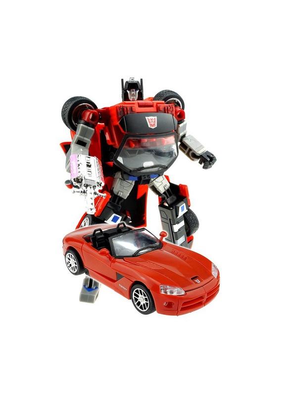 Робот-Трансформер Собирается в Кабриолет XXLРобот-трансформер: Собирается в Кабриолет XXL, Play Line (Плэй Лайн)-это уникальная игрушка для мальчиков.Робот имеет высококачественное исполнение и выполнен в ярко-красном цвете. Легко трансформируется в стильную и мощную машину-кабриолет. С помощью игрушки ребята могут создавать новые увлекательные сюжеты для игр, что позволяет развивать логическое мышление, воображение, мелкую моторику рук.<br>