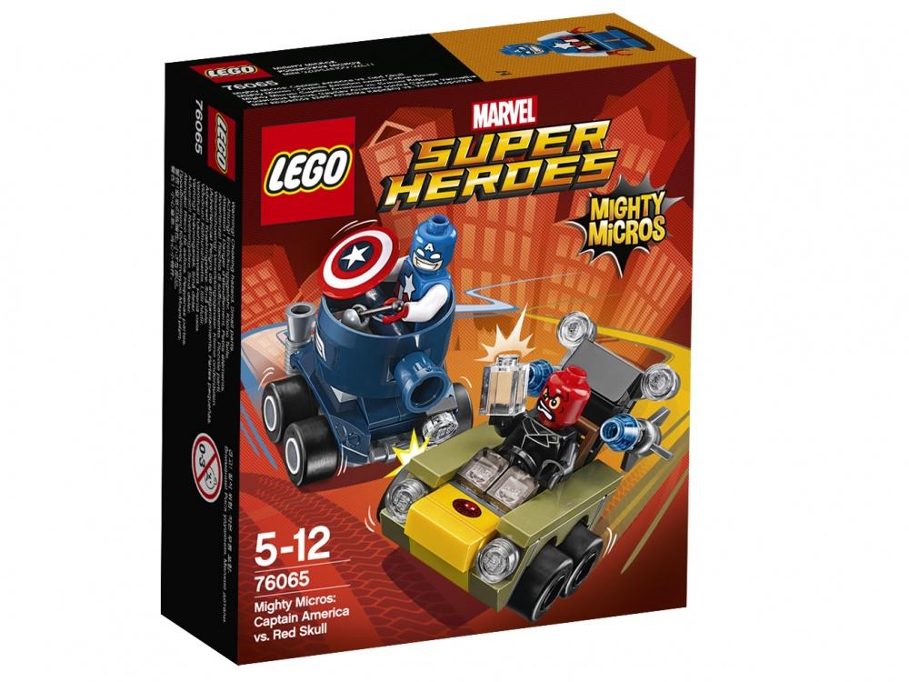 Конструктор Lego Super Heroes 76065 Капитан Америка против Красного Черепа lego lego super heroes флэш против капитана холода