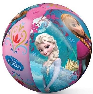 Пляжный мяч Mondo Холодное сердце, 50смПляжный мяч «Холодное сердце» будет стильным дополнением у любого водоема. Этим мячом можно играть в различные игры, брать его в воду или катать на песке. Сделана игрушка из качественной резины, поэтому она очень продолжительное время будет радовать своими красками и плотной формой. Оригинальные аппликации любимой героини мультфильма делают мяч особенным и добавляют ему необычности.<br>