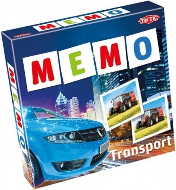 Игра Tactic Games Мемо Транспорт 2  настольная игра tactic games мемо дикие животные 41441