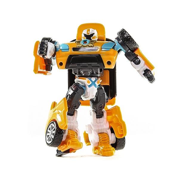 Робот-трансформер Tobot X с ключом-токеномРобот Tobot X - герой южнокорейского анимационного сериала Tobot, этот трансформер принадлежит мальчику Райну, с которым они вместе защищают город. Робот имеет эргономичный дизайн, который отражает его исключительную силу и твердый, надежный характер. Он трансформируется в автомобиль желтого цвета, имеет множество точек артикуляции и активируется при помощи ключа-токена, который есть в комплекте.Возраст: от 4 летГерой: Transformers / ТРАНСФОРМЕРЫДля мальчиковЦвет: оранжевый.Комплектация: робот-трансформер, ключ.Материалы: пластик.Размер упаковки: 25 х 19.7 х 7.7 см.<br>