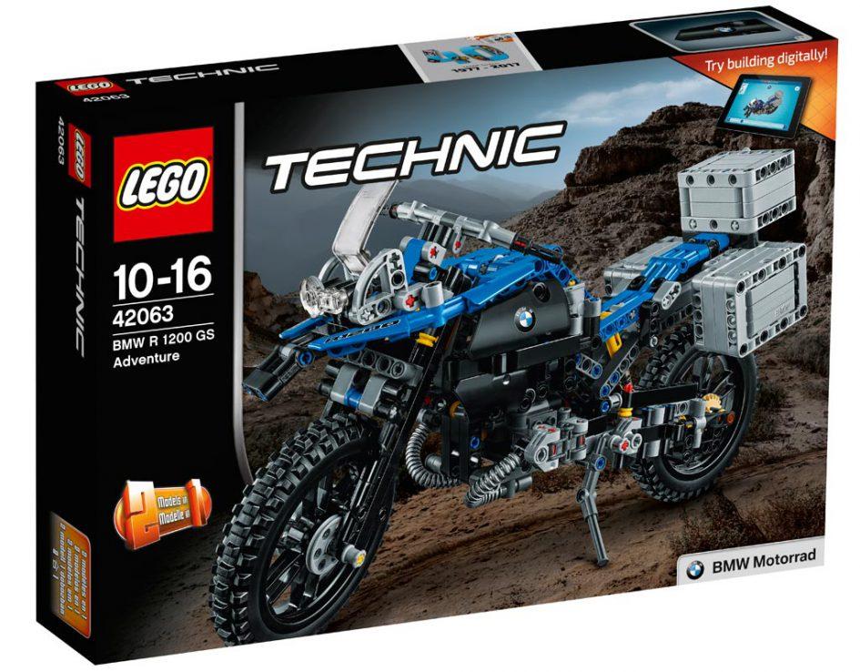 Конструктор Lego Technic 42063 Приключения на BMW R 1200 GS конструктор lego technic 42063 приключения на bmw r 1200 gs