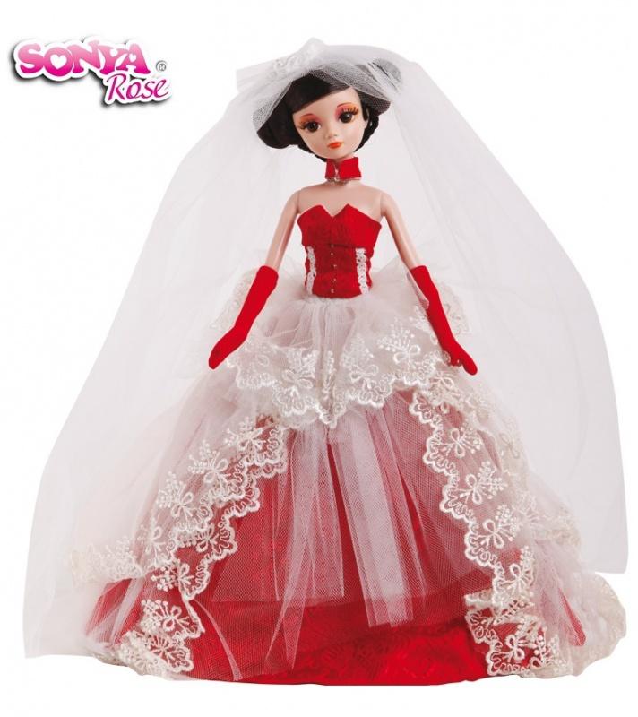 Кукла Sonya Rose Золотая коллекция: Малиновый сорбет отдельно корсет для свадебного платья