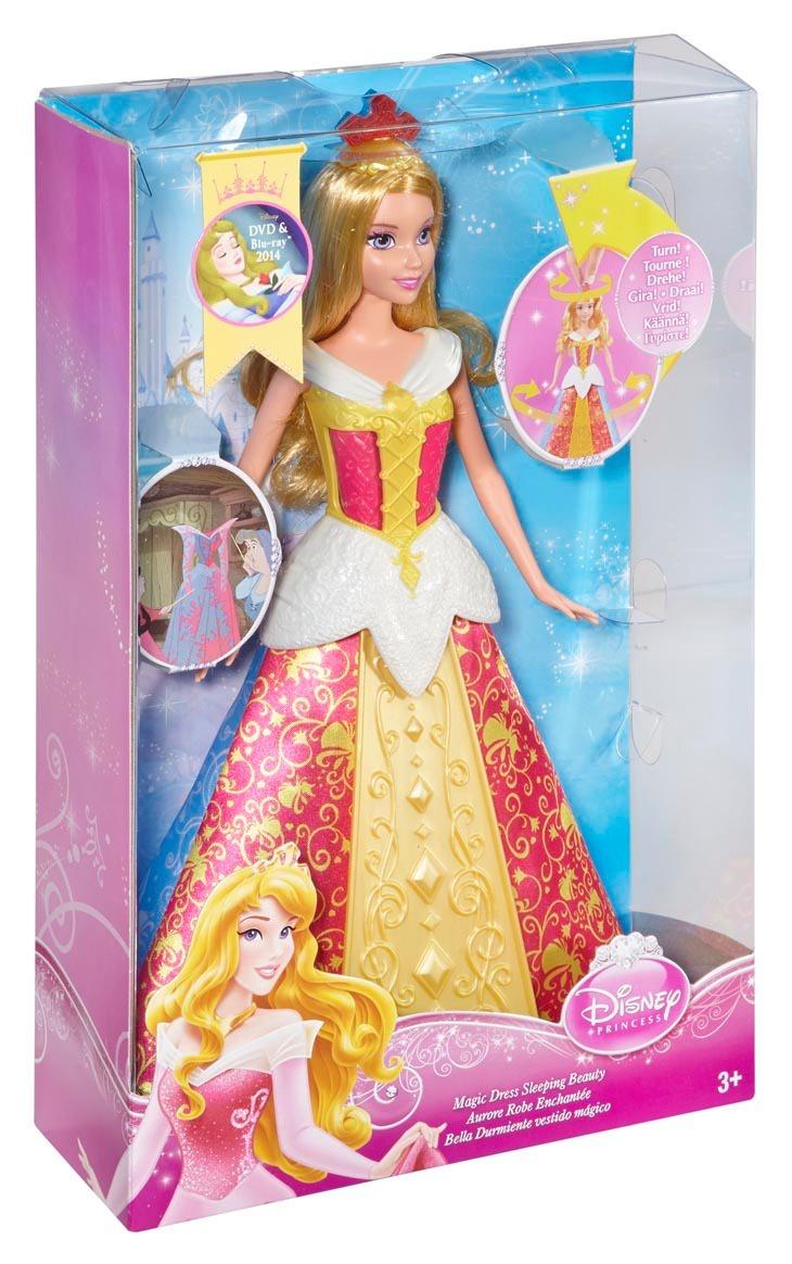Disney Princess Кукла Спящая красавицаКукла Disney Princess - Спящая красавица станет отличным подарком для каждой девочки.Эта замечательная игрушка непременно понравится вашей дочери, и она будет играть с ней целыми днями. На голове у куколки находится симпатичная корона. Если ее повернуть, поменяется цвет платья Спящей красавицы. Игрушка изготовлена из высококачественного пластика, безопасного для здоровья.<br>