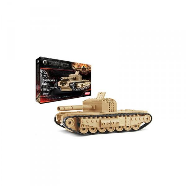 Конструктор Zormaer World Of Tanks, в ассортиментеС набором «Конструктор World of Tanks Churchill I» у вас появилась уникальная возможность своими руками создать уменьшенную копию известного танка.Она предназначалась для борьбы с тяжелыми танками противника и для подавления огневых средств.Сборные модели развивают интеллектуальные и инструментальные способности, воображение и конструктивное мышление. Прививает практические навыки работы со схемами и чертежами.Все детали сделаны из качественного пластика.Количество деталей: 214 шт.Упаковка: картонная коробка.ВНИМАНИЕ! Товар в ассортименте, вариант в поставке не гарантирован!<br>