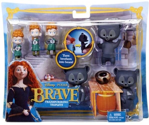 Набор подарочный с фигурками-трансформерами Mattel Disney Princess Принцесса -Храбрая сердцем ; mattel храбрая сердцем с фигурками трансформерами принцессы disney