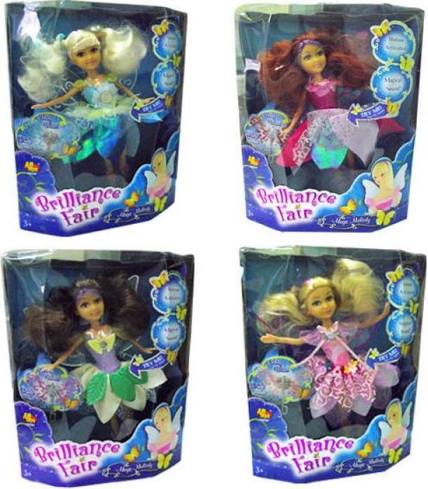 Кукла Funville Brilliance Fair с волшебной палочкой кукла brilliance fair балерина 26 5 см