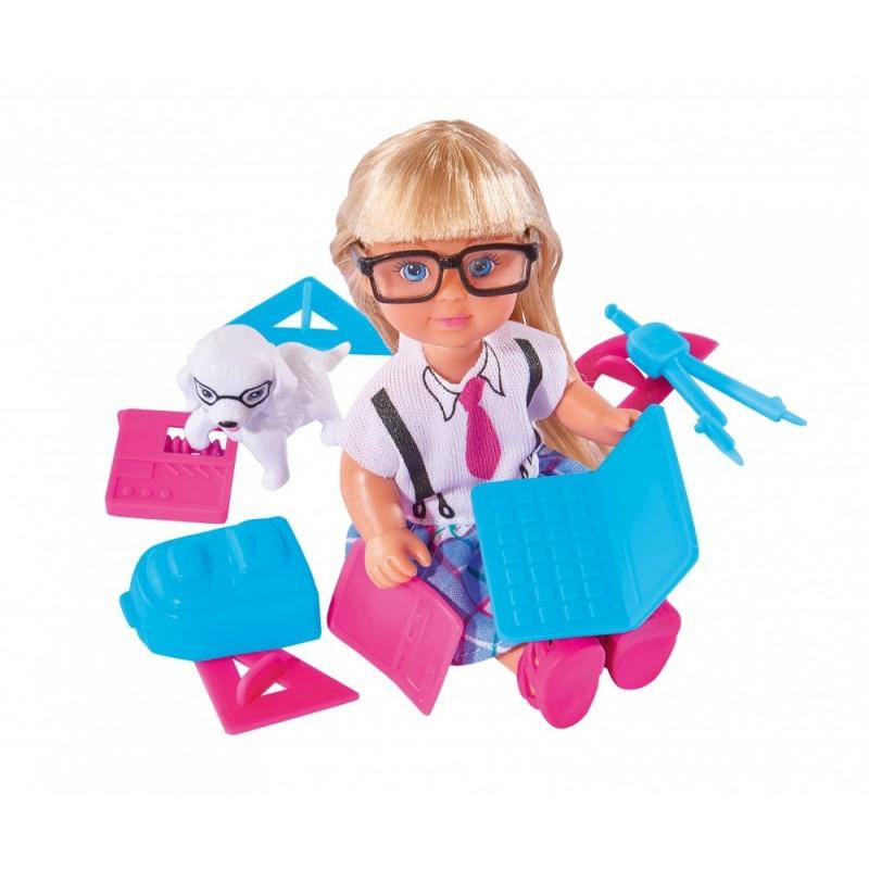 Кукла Еви - Школьные принадлежности школьные принадлежности в виде косметики
