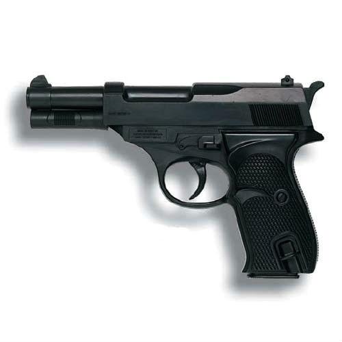 Пистолет Eaglematic, 17.5 см edison игрушечный пистолет с пистонами eaglematic серия soft touch 17 5 см