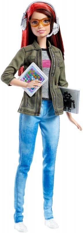 BARBIE® Кукла разработчик компьютерных игр barbie barbie балетки резиновые с ремешком белые