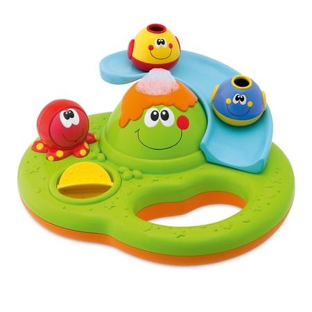 Игрушка для ванны 'Остров с пузырьками' игрушки для ванной chicco игрушка для ванны остров с пузырьками