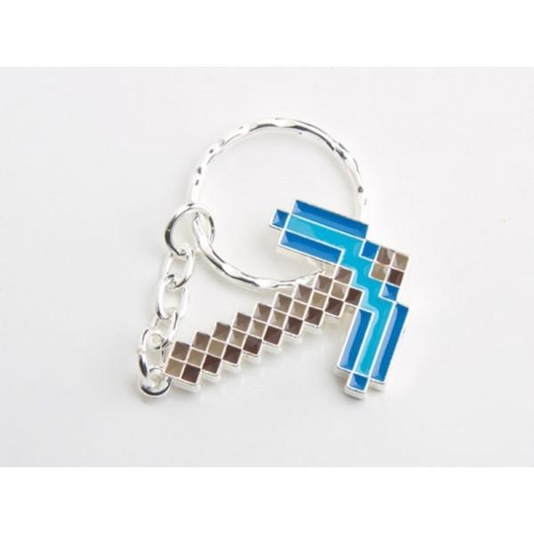 Брелок Minecraft Diamond Pickaxe КиркаБрелок Minecraft Diamond Pickaxe – это отличный сувенир для любого ребенка, увлекающегося соответствующей игрой. Представленная модель может быть использована в самых разных целях. Благодаря прочному кольцу и цепочке ее можно прикреплять к связке ключей, рюкзаку или сумке. Кроме того, брелок можно использовать и в различных играх, проявляя воображение и фантазию.МатериалыБрелок Minecraft Diamond Pickaxe изготавливается из прочного экологически чистого пластика. Благодаря этому обеспечивается прочность изделия и его устойчивость к различным повреждениям, что способствует долгому сроку службы. Структура материала исключает вероятность возникновения аллергических реакций и других раздражений организма.Как приобрестиЧтобы купить брелок, вы можете посетить один из наших магазинов в Москве и Санкт-Петербурге. Оплатить покупку можно как картой, так и наличными. Для жителей других регионов мы предоставляем возможность оформить заказ с доставкой в любой город страны. В этом случае оплата возможна наложенным платежом.<br>