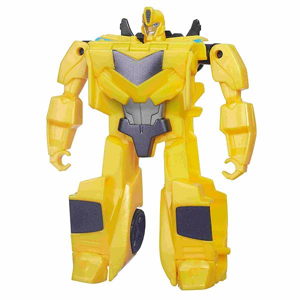 Робот Трансформер (РИД)Замечательная новинка 2016 года - игрушки роботы-трансформеры,  созданные на основе мультсериала 2015 года «Трансформеры: Роботы под прикрытием». Для всех игрушек серии РИД характерна легкая трансформация, поэтому отлично подойдут в качестве подарка для ребёнка дошкольного возраста. Герои очень узнаваемые, игрушки очень яркие и красочные, отличаются высоким уровнем детализации, изготовлены из высококачественного пластика.Главной особенностью игрушек этой серии является то, что на груди каждого робота находится наклейка, которую можно отсканировать с помощью планшета или смартфона и получить новые возможности в специальном бесплатном мобильном приложении Hasbro Robots in Disguise.Покупая игрушку трансформер, Вы никогда не ошибётесь с выбором подарка для мальчика, ведь эти игрушки сочетают в себе всё, что так любят маленькие сорванцы. Здесь и захватывающая история борьбы добра со злом, и бесстрашные воины-герои, и крутая техника, и возможность трансформации игрушки в две различные формы.Игрушка представлена в ассортименте, выбранный вариант в поставке не гарантирован.<br>