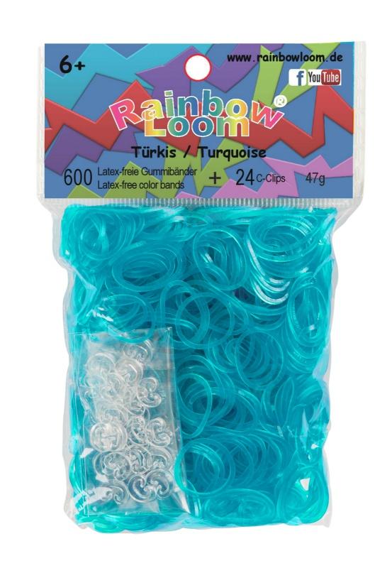 Резиночки - Бирюзовый набор для творчества diy резиночки для плетения слоник