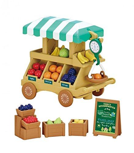 Игровой набор Сильвания Фэмили - Тележка с фруктами сервировочная тележка для подачи торта на колесах купить в екатеринбурге