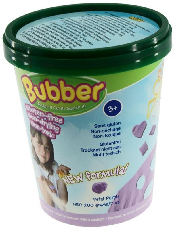 Масса для лепки Waba Fun Bubber, 200 гр, фиолетовая песочница надувная waba fun