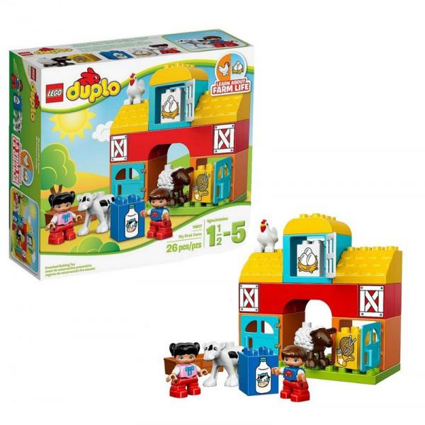 Конструктор Lego Duplo 10617 Моя первая ферма lego duplo конструктор моя первая ферма
