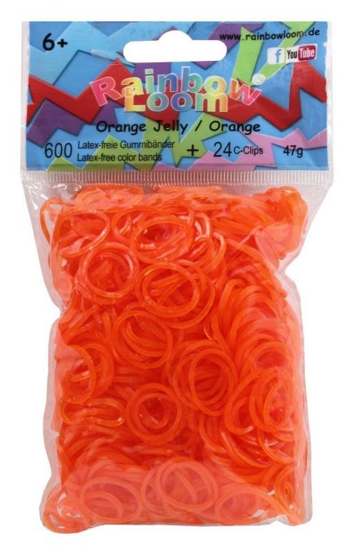 Купить Гелевые резиночки - Оранжевые