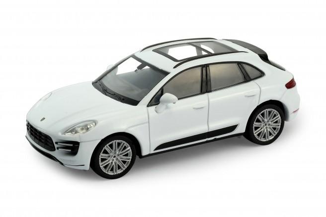 Модель машины 1:34-39 Porsche Macan TurboМодель машины «Porsche Macan Turbo» с панорамной крышей от известного бренда Welly исполнена точной миниатюрной копией своего прототипа. У модели открываются двери, благодаря чему можно рассмотреть, как тщательно исполнен салон автомобиля. Машинка имеет как коллекционную ценность, так и игровую. Дети обожают играть с реалистичными и функциональными автомобилями.<br>